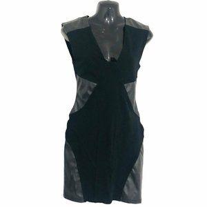 ARITZIA TALULA bodycon little black dress size 8